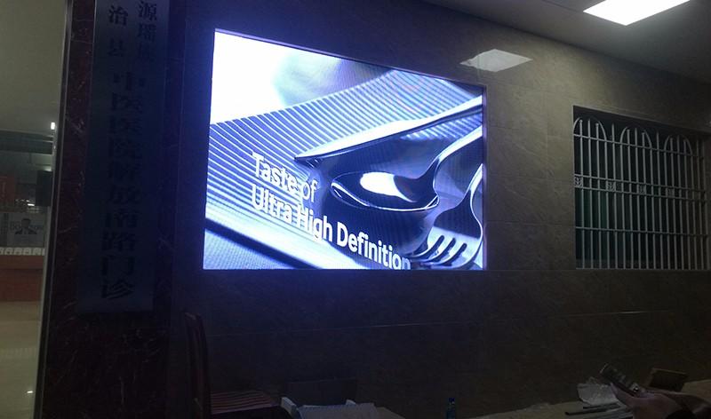 室内LED显示屏案例 室内固定LED电子显示屏 高清显示屏 租赁屏